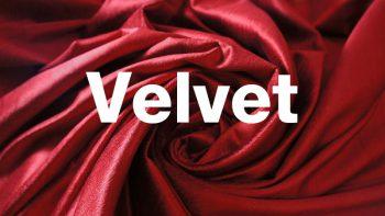 รู้หรือไม่ 'ผ้ากำมะหยี่ (Velvet)' ผลิตอย่างไร ?